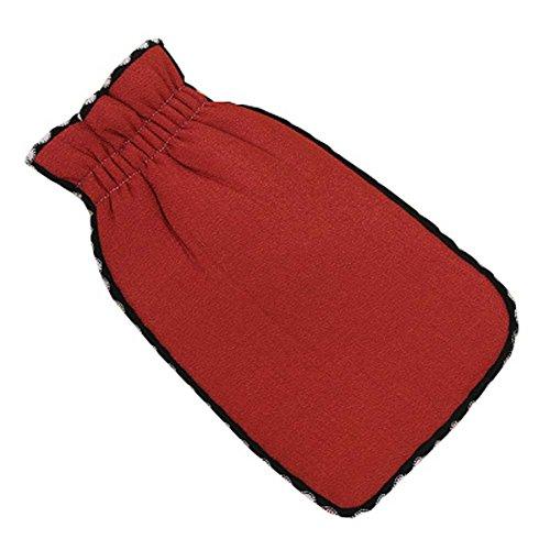 Douche Tissu Gants exfoliants bain Scrubber accessoires de salle de bains, C
