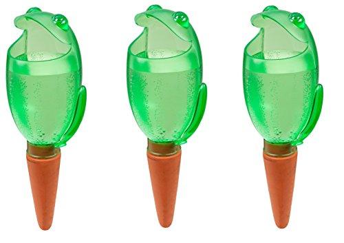 Scheurich Wasserspeicher Wasserspender Froggy XL, Green 470 ml, Höhe 30 cm (3)