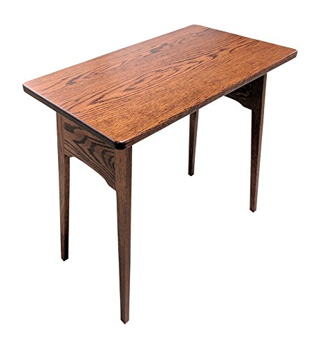 Weaver Craft Fireside Folding Table (Red Oak)