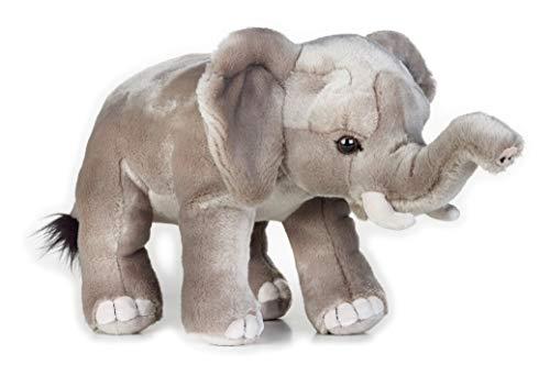 National Geographic- Elefant Animal en Peluche, 9770717, Gris