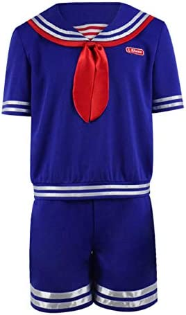 Party City Steve Scoops Ahoy Halloween Costume for Men Stranger Things with Accessories