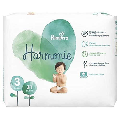 Pampers Harmonie Windeln, Größe 3, 6-10 kg, 31 Stück