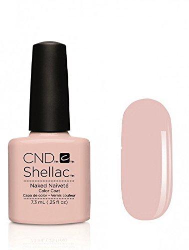 Cnd Shellac Naked Naivette Esmalte en Gel - 7.3 ml