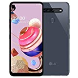 LG K51s (64GB, 3GB) 6.55' HD, 32MP Quad Camera, MIL-STD 810G, Helio P35, GSM Unlocked Global 4G LTE International Model (T-Mobile, AT&T, Metro) LM-K510BMW (Titan)
