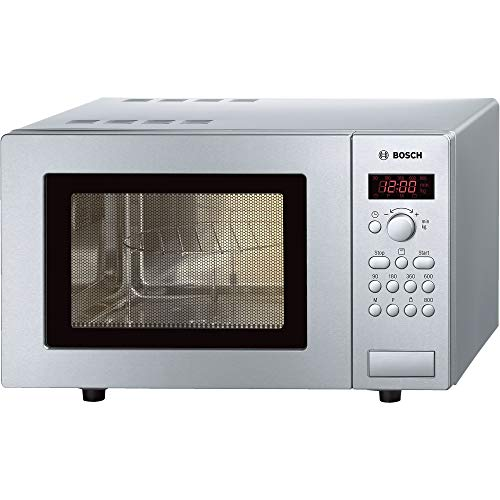 Bosch freestanding magnetronoven met kwarts grill, 17 liter, roestvrij staal, HMT75G451B by Bosch