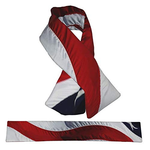 Xukmefat American Flag Ar Women Scarves Winter Soft Warm Fleece Collar Scarfs