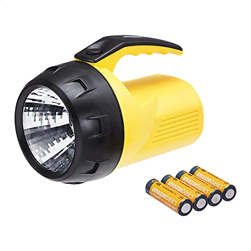 Amazon Basics - Linterna LED, 6 V