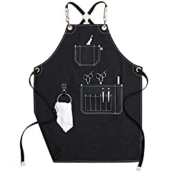 Barber-Gifts-Canvas-Work-Apron-with-Pockets