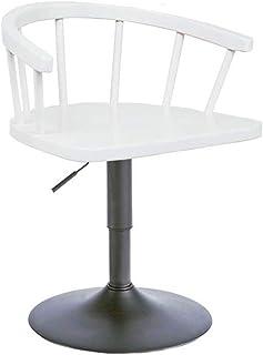 JICLX Taburete de Bar Retro Cocina giratoria Barra de Desayuno Silla Silla Elevador de Aire Altura