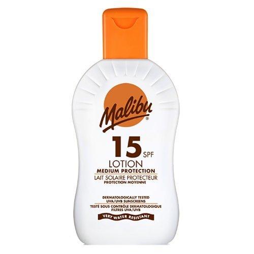 Malibu High Protection Lotion UVA/UVB Sunscreen SPF15 200 ml by Malibu