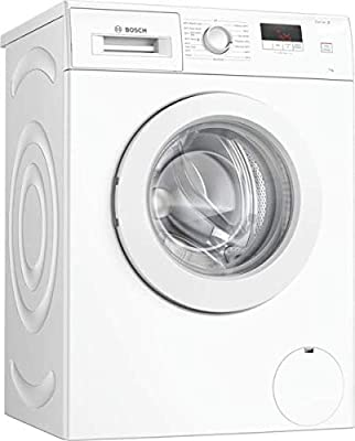 Bosch WAJ28008GB Serie 2 Freestanding Washing Machine, 7kg load, 1400rpm spin, White