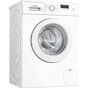 Bosch WAJ28008GB Serie 2 Freestanding Washing Machine, 7kg load, 1400rpm spin, White