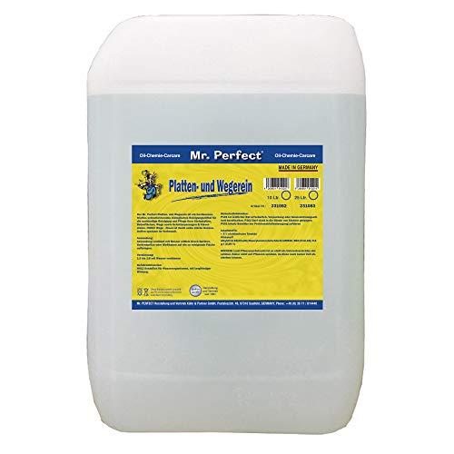 Mr. Perfect® Wegereiniger, 25 Liter - Steinplatten-Reiniger für Industrie & Gewerbe