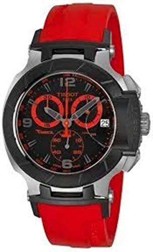 Tissot T-Race Reloj cronógrafo para hombre con esfera negra (Modelo: T0484172705702) tissot
