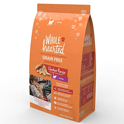 WholeHearted Grain Free Chicken Formula Dry Kitten Food
