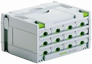 Festool 491986 SYS 3-SORT/12 sortainer opberghulp met laden, wit wit