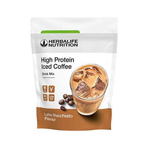 Herbalife - Proteina sabor a Café Helado - High Protein Iced Coffee Latte macchiato 308 g ⭐