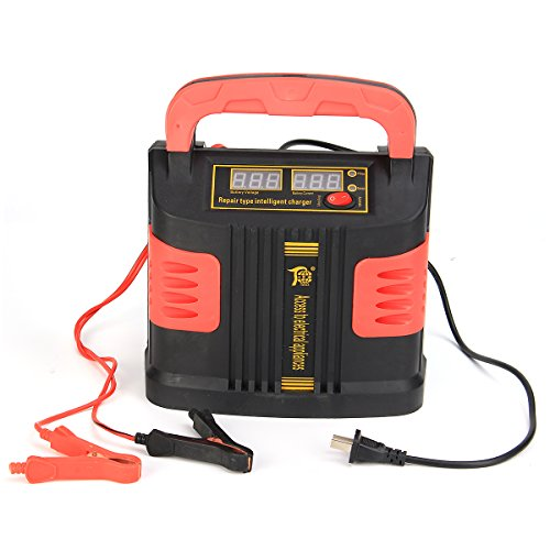 GOZAR 12/24V Jump Starter Emergency Charger Booster Power Bank Pulse Repair Device