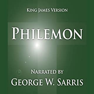 The Holy Bible - KJV: Philemon audiobook cover art
