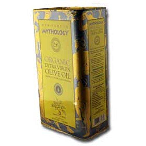 Greek Mythology Extra Virgin Organic Olive Oil from Crete 3 liters