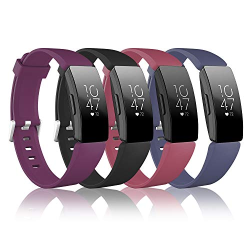 Vanet 4 Pack Compatible with Fitbit Inspire Hr Straps/Fitbit Inspire Straps...