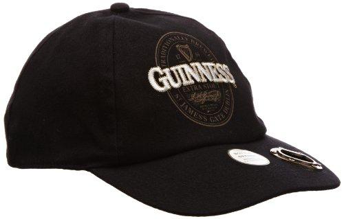 Guinness Official Merchandise Chapeau Homme - Noir - Noir - FR : Taille unique (Taille fabricant : One Size)