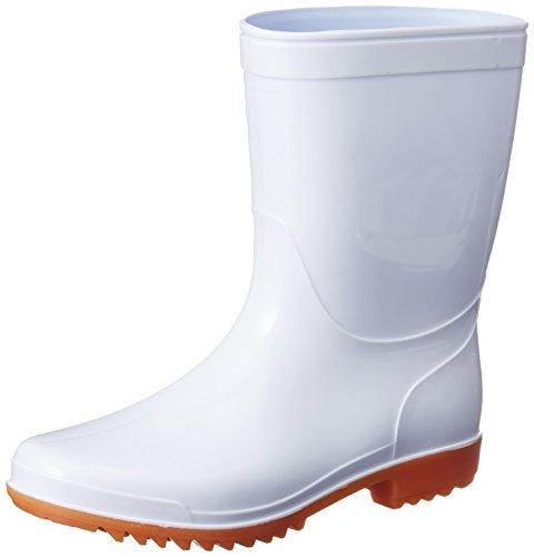 [ヘイギ] 長靴 レインブーツ PVC耐油長靴 インソール入り TR-8 ホワイト 28 cm