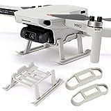 MMOBIEL Protectores de Soporte de hélice de Drones y Tren de Aterrizaje para dji Mini 2 - Protector Mavic Mini Drone Props y Pata de dron Gris