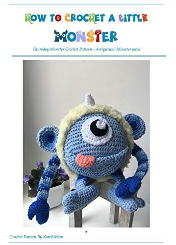 Monster crochet pattern / amigurumi tutorial PDF file / beginner ... | 500x359