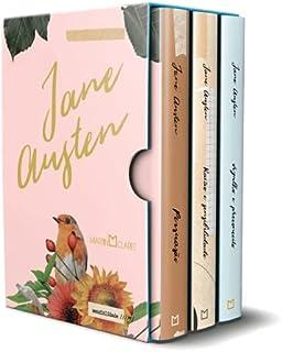 Box Jane Austen - 3 Volumes - Razão e Sensibilidade, Orgulho e Preconceito e Persuasão - Brochura
