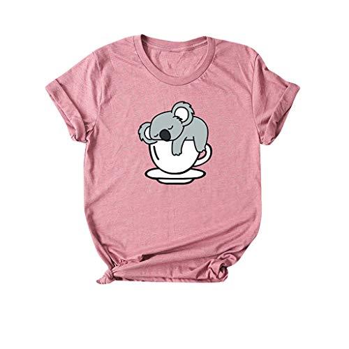 AOGOTO Frauen Sonnenblume Bluse Komisch Grafik Weste Trainieren Cami T. Hemd Fließend Tunika Niedlich Tops