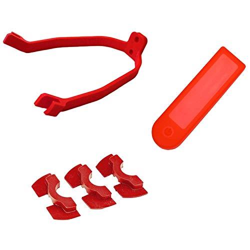 HYCy Amortiguadores de vibración de Goma nd Soporte de Soporte de Guardabarros Trasero nd Cubierta de Tablero de Panel Impermeable para Scooter eléctrico Mijia M365 / Pro