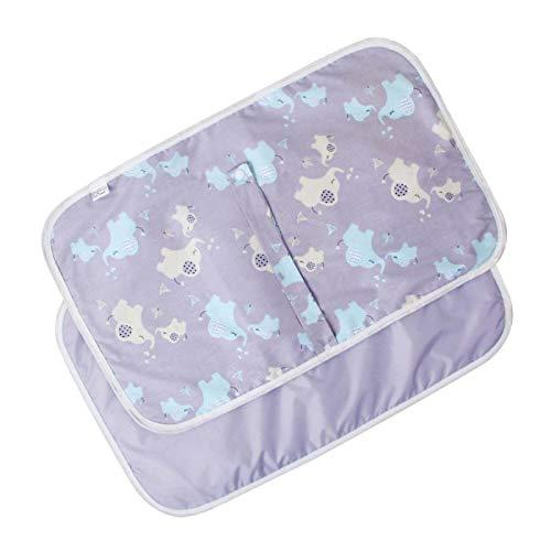 colchon cambiador bebe,Almohadilla de repuesto,Multifunciónviaje,Alfombrilla cambiador portátil impermeable para bebé recién nacido, plegable, cambiador, almohadilla para pañales