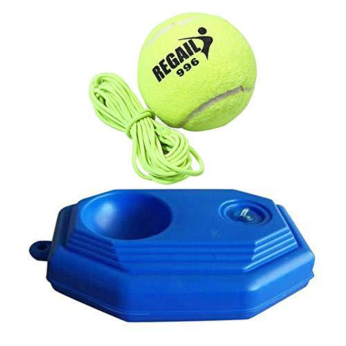 Watermelon Tennistrainer portátil tenis Rebounder Ball Kit, tenis de rebote Power Base Entrenamiento para el propio estudio, perfecto para entrenamiento de interior al aire libre