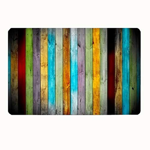 commercial striped kitchen mats Goodbath bathroom rugs & rugs, non-slip striped bathroom rugs kitchen runner rugs 20 x 31 inches colorful