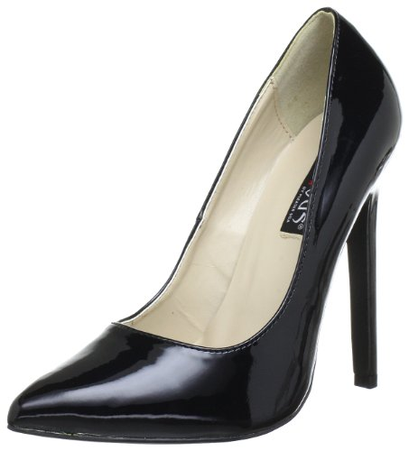 Pleaser Devious SEXY-20 Damen Pumps, Schwarz (Blk pat), EU 40 (UK 7) (US 10)