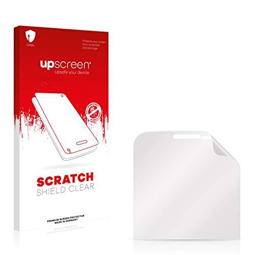 upscreen Schutzfolie kompatibel mit Samsung B5510 Galaxy Y Pro – Kristallklar, Kratzschutz, Anti-Fingerprint