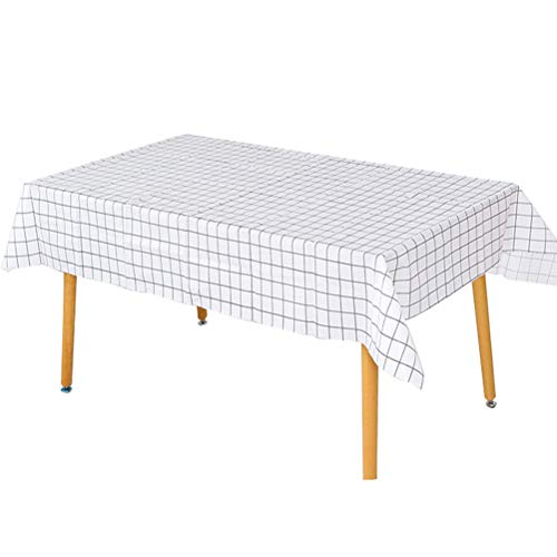 SPDYCESS Tablecloths Spillproof Tablecloth Indoor Outdoor Decorative Rectangle Table Cover Vintage Classic Design PVC Tablecloth for Garden Picnic Kitchen Holiday Dinner