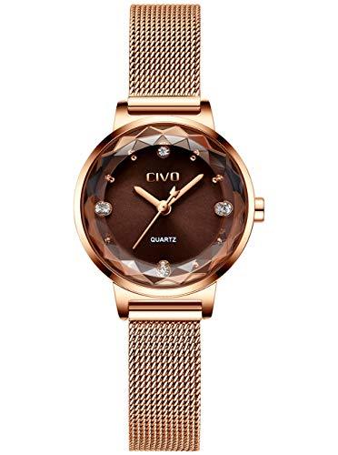 La montre pour femme en acier inoxydable
