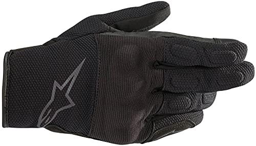 Guantes de Moto Alpinestars Stella S MAX Drystar Guantes Negro Antracita, Negro/Antracita, XL