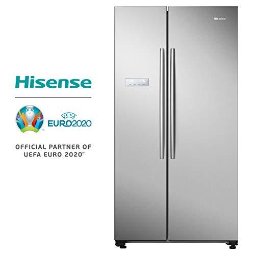 Hisense RS741 N4AC2 Side-by-Side/A++/178 cm/365 kWh/Jahr/372 L Kühlteil/192 L Gefrierteil/Alarmfunktion