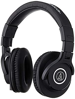 Audio-Technica ATH-M40X Professional Headphones - Black from audio-technica