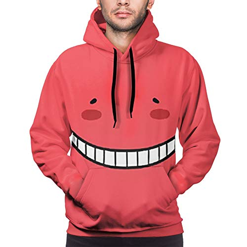 ManWang Assassination Classroom Sudaderas Tops Populares Korosensei Cosplay Sudadera Unisex con Estilo Kawaii Funny Sweatshirt Pullover Estudiante Impreso Casual