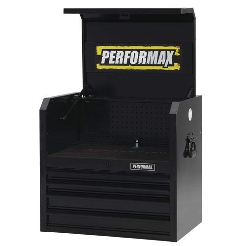 "Performax 26"" x 18"" Black 4-Drawer Tool Chest"