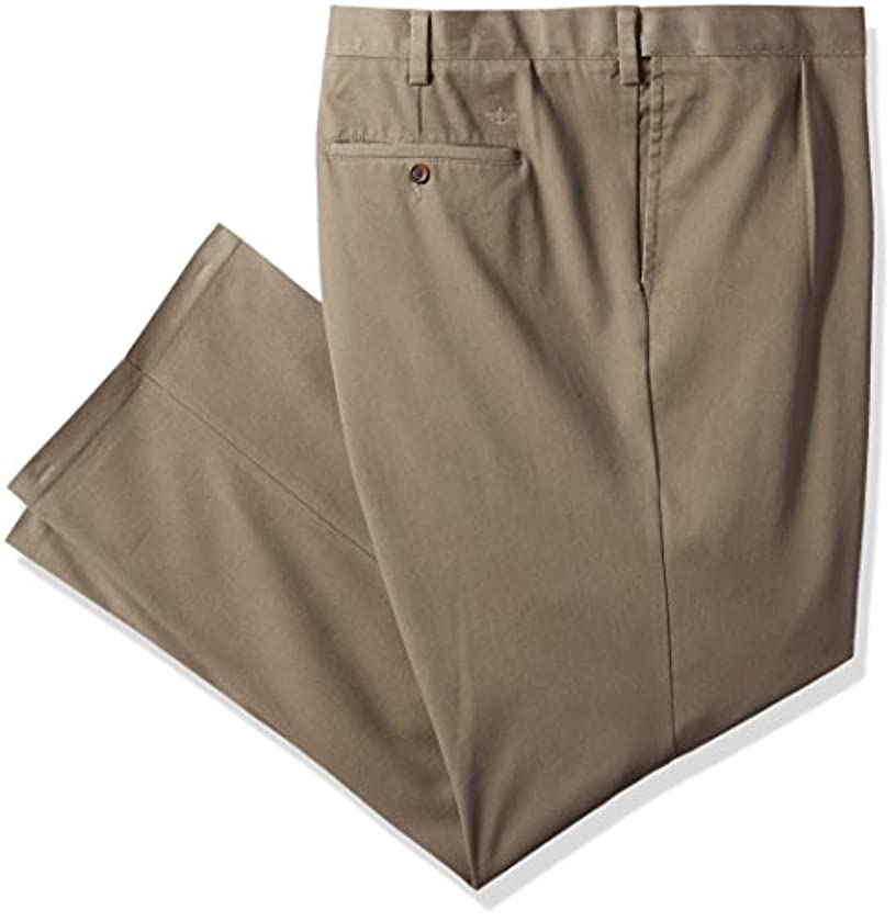 Dockers Men's Big and Tall Easy Khaki Comfort-Waist Classic-Fit Pleated Pant