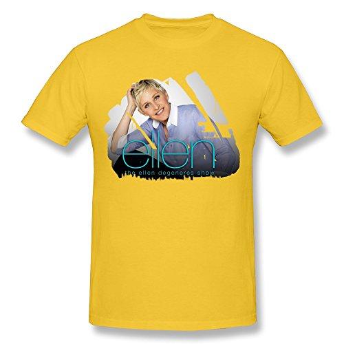 Men's T-shirt Ellen The Ellen DeGeneres Show RoyalBlue XXXX-L
