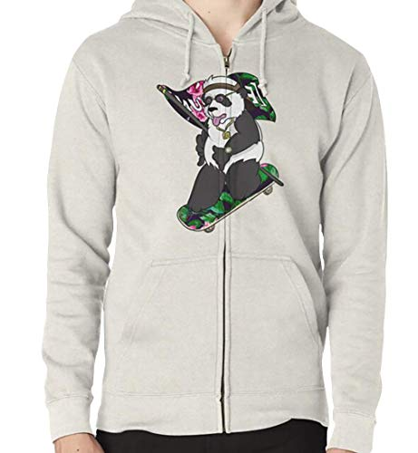 EB Panda Floral Zipped Unisex T-Shirt, Hoodie, Sweatshirt, Tank Tops
