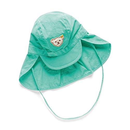 Steiff Baby-Jungen Mütze, Grün (Aqua Green 5007), 43