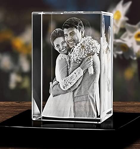 3D - Cristal de foto personalizado Cristal personalizado Imagen en 3D -...