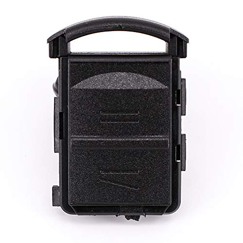 Ersatz-Schlüsselgehäuse Schlüssel Gehäuse mit 2 Knöpfen für Opel Corsa C Combo Meriva